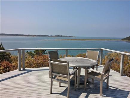 South Wellfleet Cape Cod vacation rental - Waterview from main upper deck