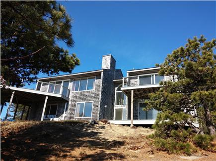 South Wellfleet Cape Cod vacation rental - Back of house