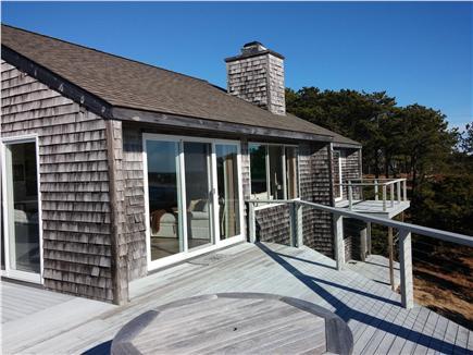 South Wellfleet Cape Cod vacation rental - Deck