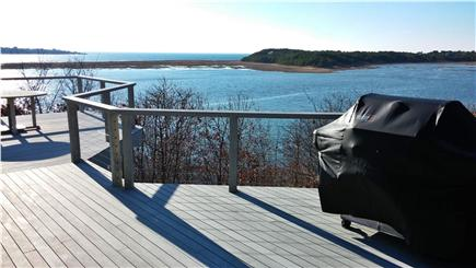 South Wellfleet Cape Cod vacation rental - Waterview from main upper deck