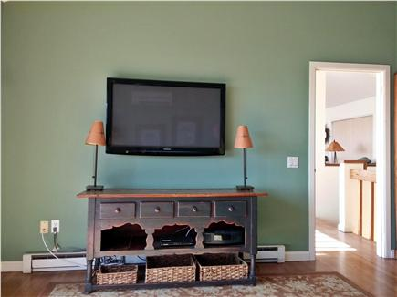 South Wellfleet Cape Cod vacation rental - Wall mounted 46'' HD TV
