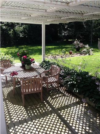 East Sandwich, MA Cape Cod vacation rental - Large, private, tree lined back yard