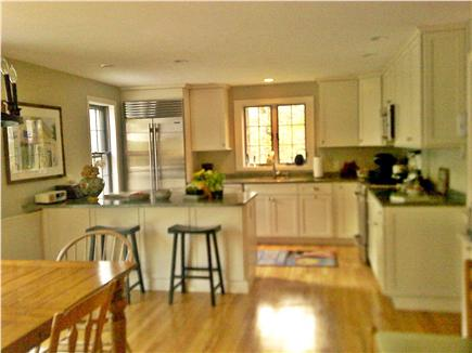 East Sandwich, MA Cape Cod vacation rental - Kitchen area.