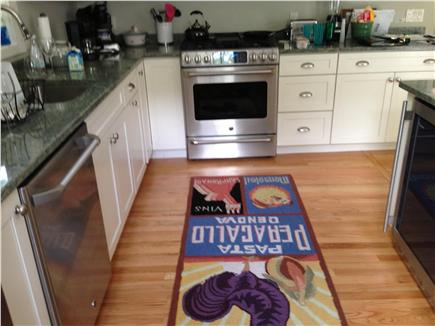 East Sandwich, MA Cape Cod vacation rental - Kitchen w/high-end appliances, granite counters & island