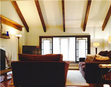 Centerville Centerville vacation rental - Living room HD flat screen TV cathedral ceiling