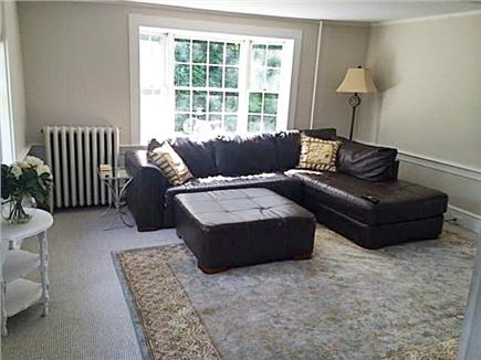 North Falmouth Cape Cod vacation rental - Living Room with large, comfortable, sectional couch