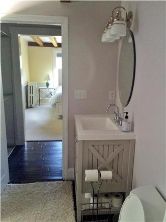North Falmouth Cape Cod vacation rental - Updated master bathroom & walk through closet space