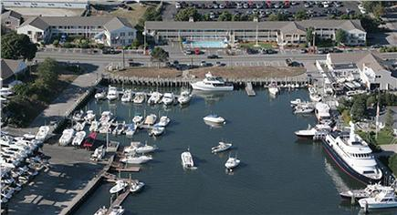 Falmouth Cape Cod vacation rental - Falmouth Harborwalk resort from the air