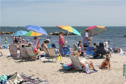 Falmouth Cape Cod vacation rental - Falmouth Heights Beach is a 12 min. Walk