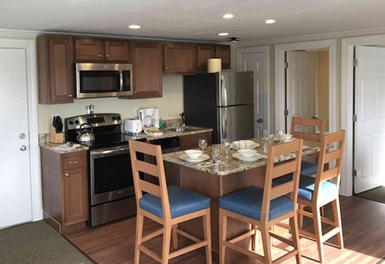 Falmouth Cape Cod vacation rental - Full Stainless Steel Kitchen-Dining Area