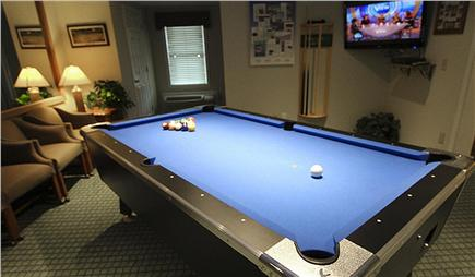 Falmouth Cape Cod vacation rental - Game Room Pool Table