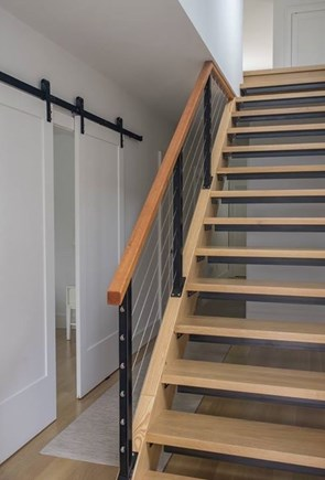 Wellfleet Cape Cod vacation rental - Stairs to lower level