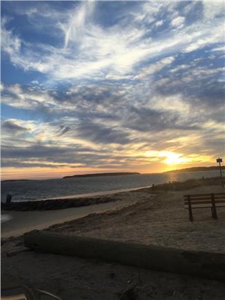Wellfleet Cape Cod vacation rental - Sunset at the Welfleet Harbor