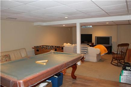 Harwich Port Cape Cod vacation rental - Gameroom in basement