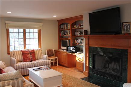 Harwich Port Cape Cod vacation rental - LR TV