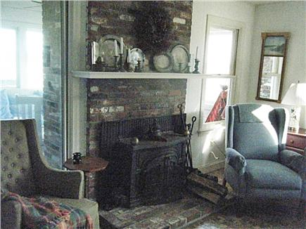 Truro Cape Cod vacation rental - Fireplace - free firewood for off season renters
