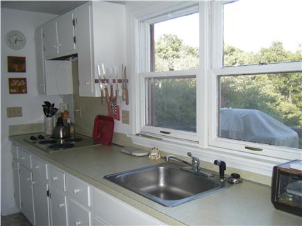 Truro Cape Cod vacation rental - Our well appointed kitchen with a view of the Pamet River
