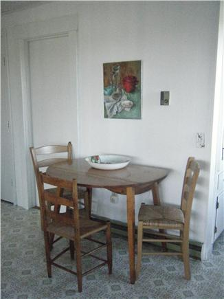 Truro Cape Cod vacation rental - Charming breakfast eating area in the kitchen