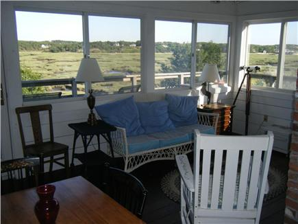 Truro Cape Cod vacation rental - Enjoy the breezes from the lovely three season porch and deck