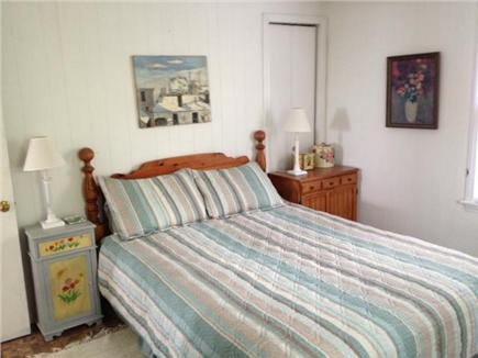 Truro Cape Cod vacation rental - Master bedroom and bath on main Level with Queen bed.