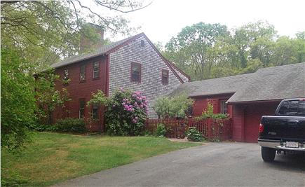 Sandwich Cape Cod vacation rental - Spacious antique reproduction colonial on almost 2 private acres