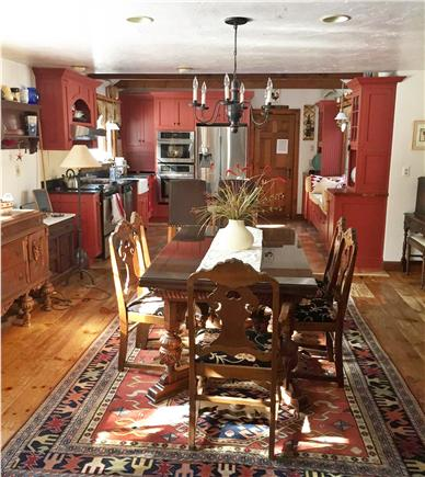 Sandwich Cape Cod vacation rental - Open dining room/kitchen - great for entertaining