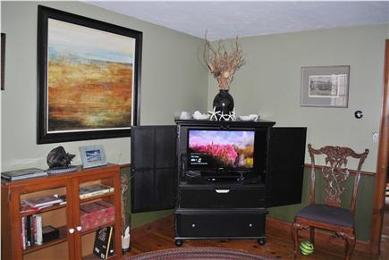 Sandwich Cape Cod vacation rental - Cozy den off kitchen - read, watch TV