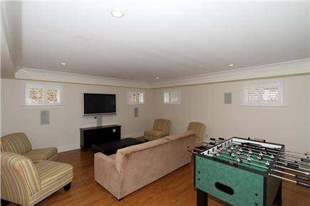 Orleans Cape Cod vacation rental - Lower level media room