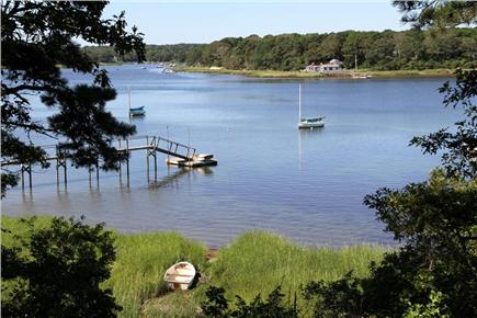 Orleans Cape Cod vacation rental - Views of Pleasant Bay from backyard