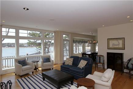 Orleans Cape Cod vacation rental - Spacious living area with views of Pleasant Bay