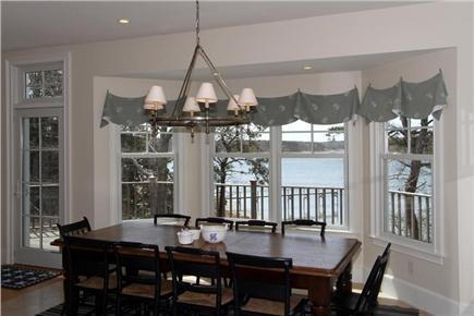 Orleans Cape Cod vacation rental - Dining area with full views of Pleasant Bay
