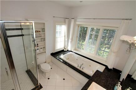 Orleans Cape Cod vacation rental - Master bathroom located on 1st floor