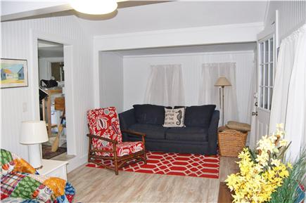 Plymouth, Manomet MA vacation rental - 2nd view of living room with pullout couch