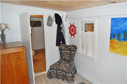 Plymouth, Manomet MA vacation rental - Master bedroom with door into bathroom