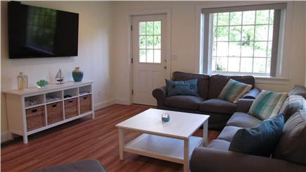Woods Hole Woods Hole vacation rental - Spacious living room with 60 inch smart TV