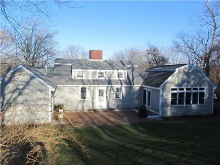 Dennis Cape Cod vacation rental - Spacious Back Exterior