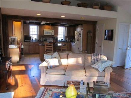 East Dennis Cape Cod vacation rental - Seating area off kitchen