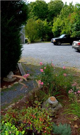 Yarmouth Port Cape Cod vacation rental - Safe, off-street parking for 1 car.