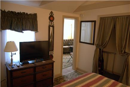 Yarmouth Port Cape Cod vacation rental - Comfy queen bed and lots of privacy.