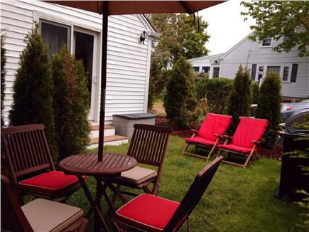 East Dennis Cape Cod vacation rental - Private garden patio