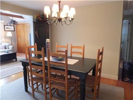 Dennis Port Cape Cod vacation rental - Dining room with opening to family room