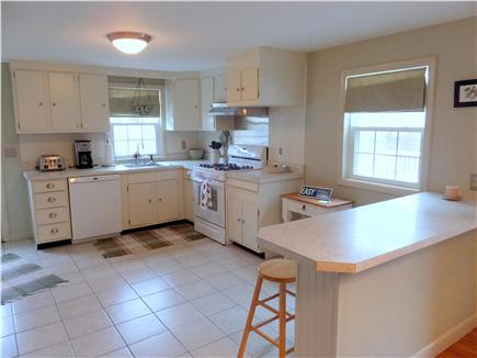Dennis Port Cape Cod vacation rental - Kitchen is open to dining room