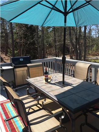 Brewster on Orleans border Cape Cod vacation rental - Relaxing deck for your enjoyment!
