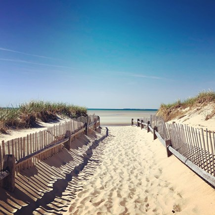 Brewster on Orleans border Cape Cod vacation rental - <1 ml to Crosby Landing Beach on the beautiful Brewster Flats!