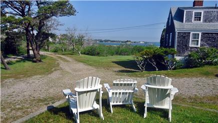 North Chatham Cape Cod vacation rental - Adirondacks overlooking Pleasant Bay and Large Yard