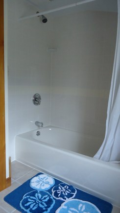 North Chatham Cape Cod vacation rental - Upstairs Shower and Bath