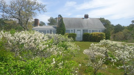 North Chatham Cape Cod vacation rental - Front of House facing Pleasant Bay - Late May 2019