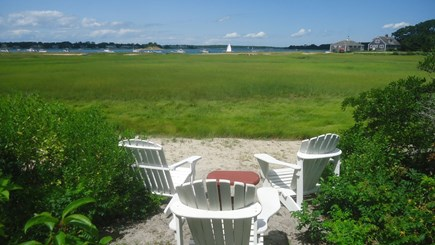 North Chatham Cape Cod vacation rental - Adirondacks by Additional Private Beach on Marsh - August 2019