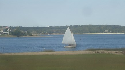 North Chatham Cape Cod vacation rental - Sailing off the Private Beach 2020