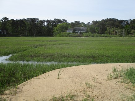 North Chatham Cape Cod vacation rental - House, Marsh and One Section of Private Beach - June 2021